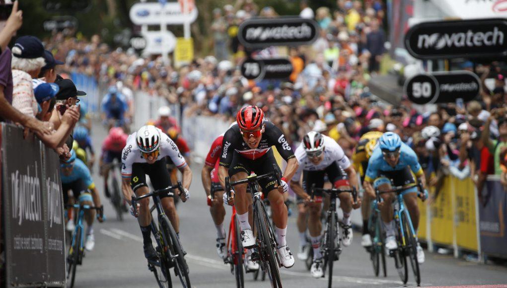 Caleb Ewan vince la fase 2 del Tour Down Under