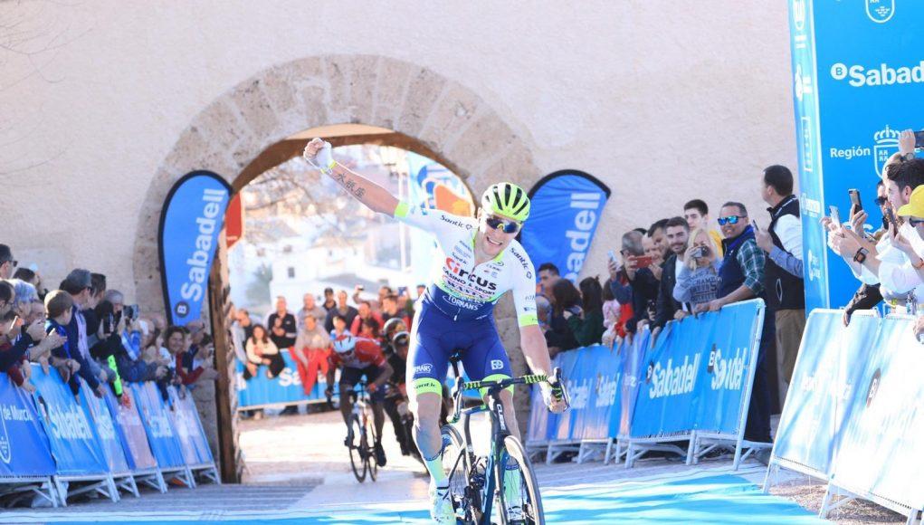 Xandro Meurisse vince la fase di apertura del tour ciclistico della regione di Murcia