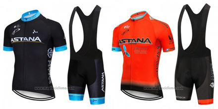 salopette ciclismo Astana