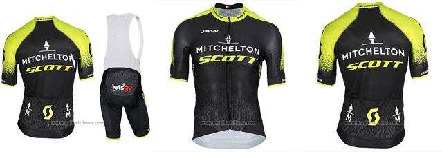 salopette ciclismo Mitchelton-Scott