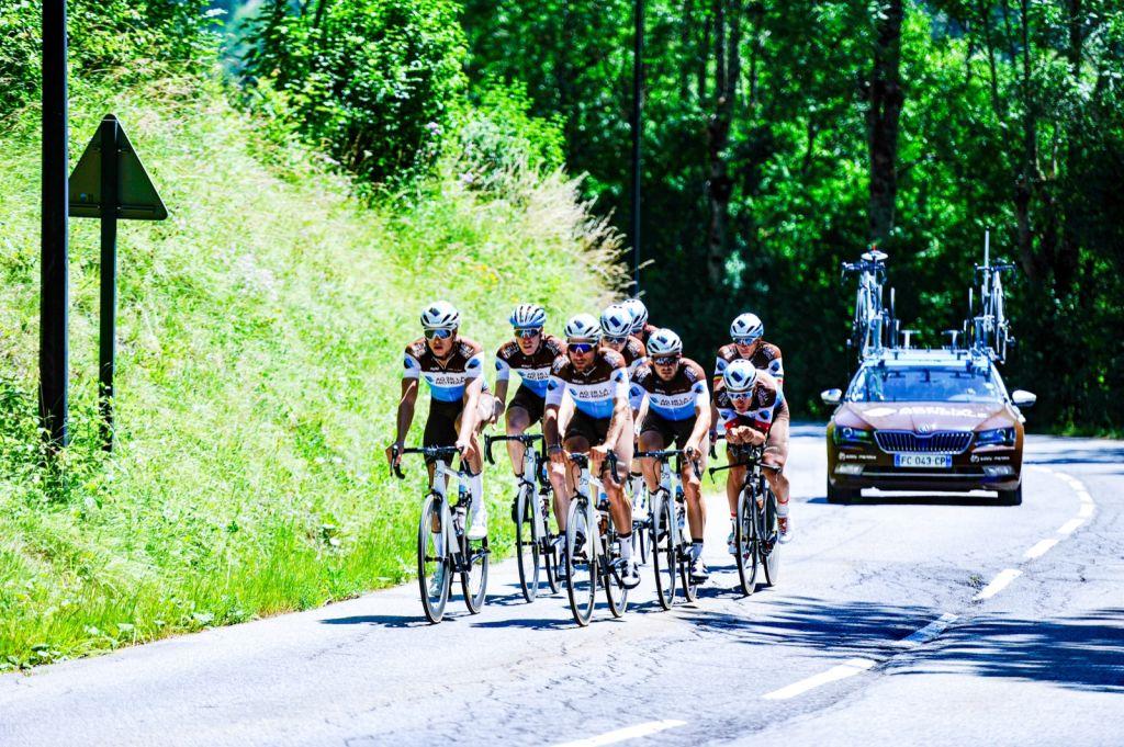 maglie ciclismo Ag2r La Mondiale